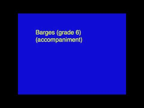 Barges (6) (accompaniment)