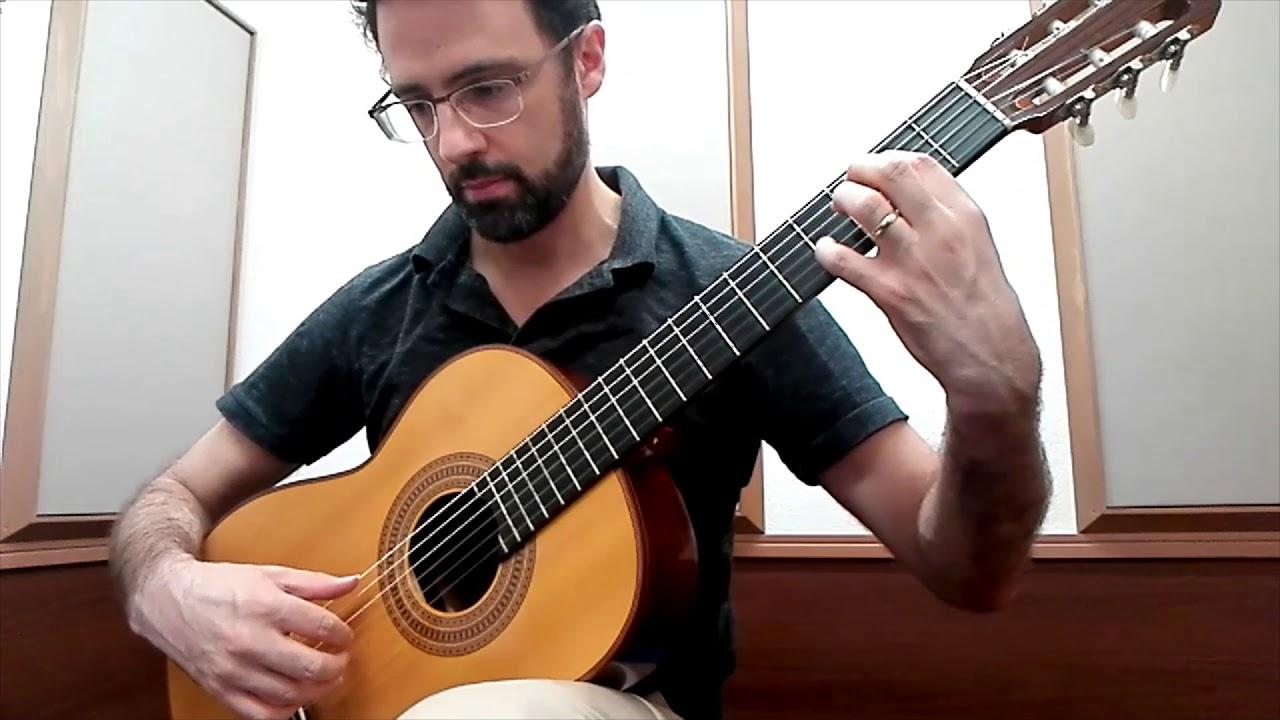 Beginning Classical Guitar: Sor Study Op. 51, No. 1