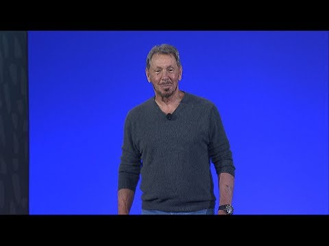 Gen 2 Cloud Autonomous Infrastructure: Larry Ellison at Oracle OpenWorld 2019