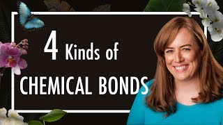 Ionic and Covalent Bonds, Hydrogen Bonds, van der Waals - 4 types of Chemical Bonds in Biology