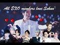 All EXO members love Sehun