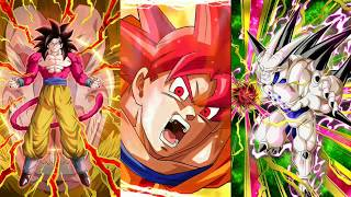 Godly multi! Dokkan Battle 500+ Stones Full Power Goku Summons!