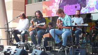 Minus the Bear Performing We Are Not a Football Team at Microsoft