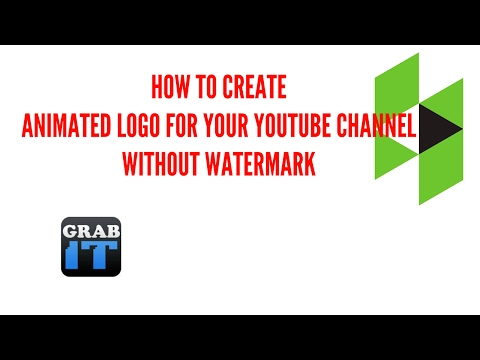 HOW TO CREATE ANIMATED LOGO ON YOUR YOUTUBE CHANNEL | HOW TO MAKE ...