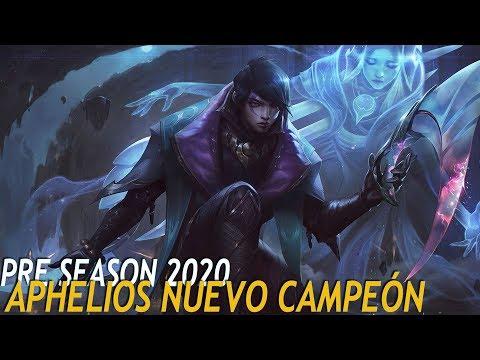 APHELIOS NUEVO CAMPEON | UN ADC CON 5 ARMAS Y MECÁNICAS NUEVAS!