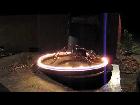 Ruben's Tube for Burning Man (Development and Demonstration)