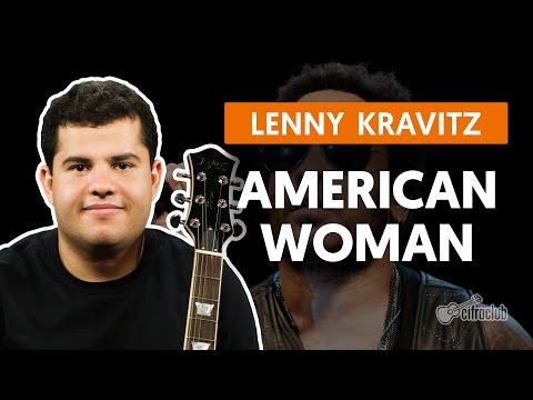 American Woman - Lenny Kravitz (aula de guitarra)