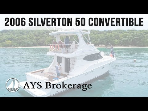 Brokerage 2006 Silverton 50 Convertible - offered by Annapolis Yacht Sales