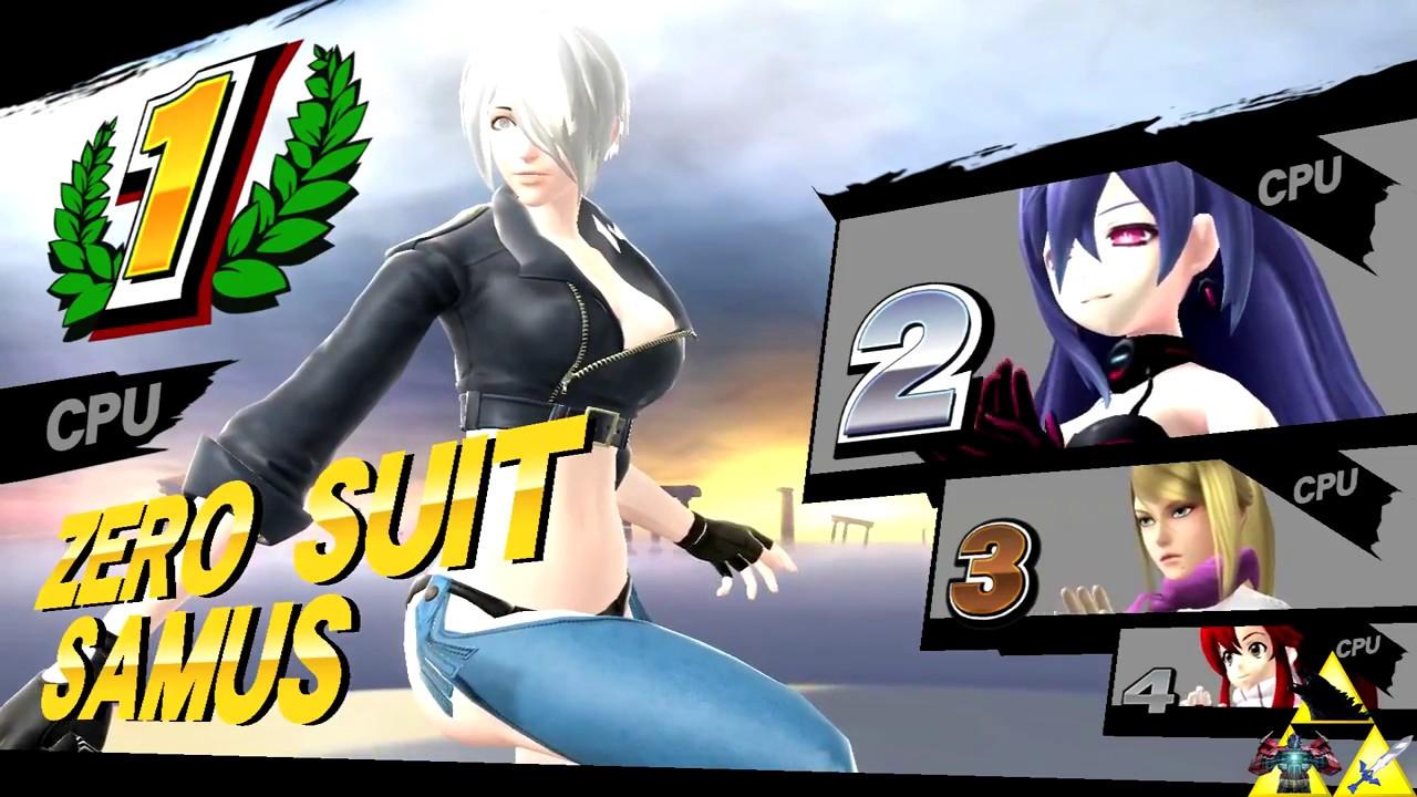 Sexy Mods Zero Suit Samus 4 Player Youtube