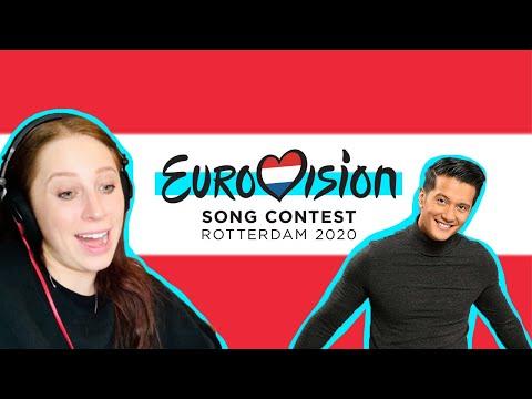 REACTING TO AUSTRIA // EUROVISION 2020 // VINCENT BUENO // ALIVE