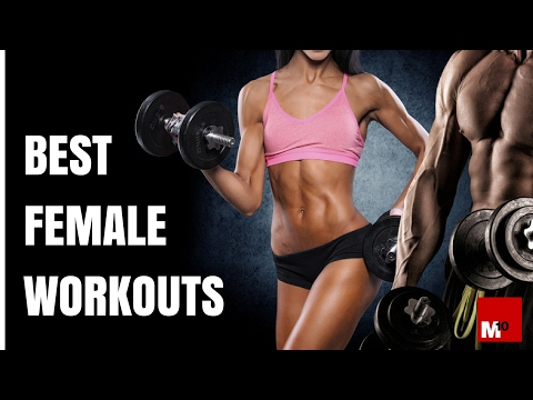 Best female workouts – How should women train in the gym