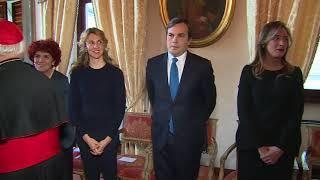 Gentiloni all\'Ambasciata d\'Italia presso la Santa Sede