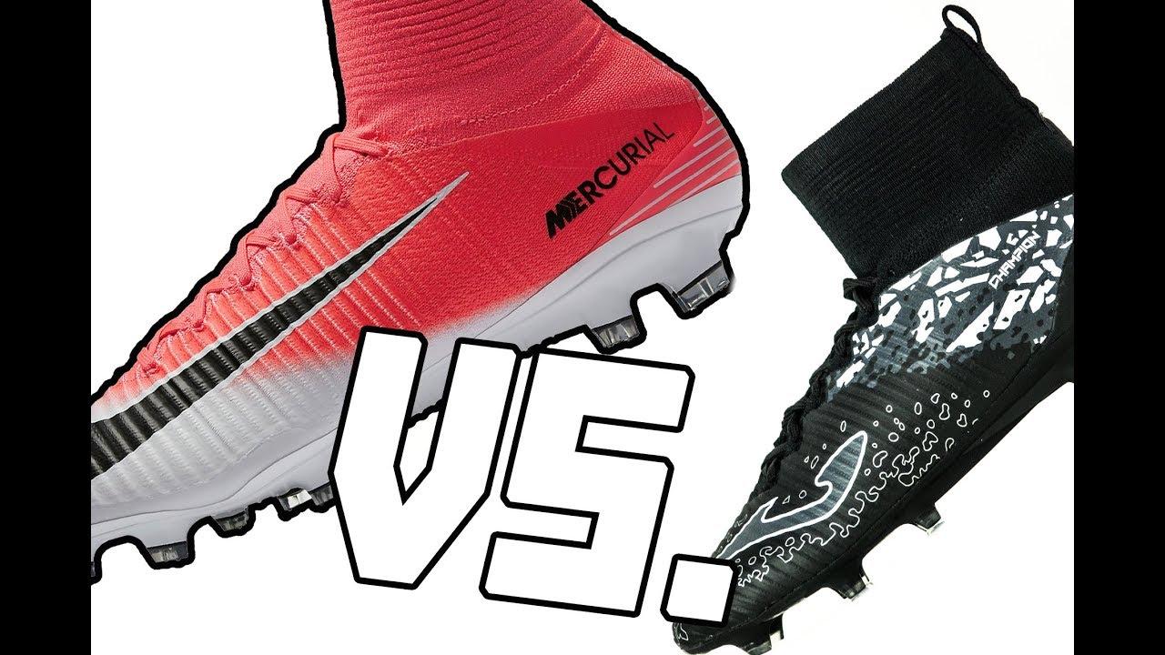 26d83e379 Korki Joma Champion vs. Nike Superfly V PORÓWNANIE - YouTube