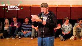 5. Bielefelder Hörsaal-Slam - Jan Philipp Zymny - Campus TV