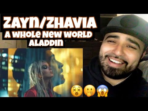 Reaction to ZAYN/Zhavia Cover to A Whole New world