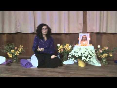 Palestra Introdutória para Primeira Iniciação Kriya Yoga - Maio2014 - com Sharana Devi