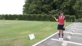 女性にうれしいゴルフ練習場 ゴルフリゾート花見川の魅力を香山智里がご案内