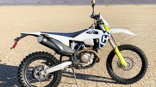 2020 Husqvarna FE501S - Dirt Bike Magazine