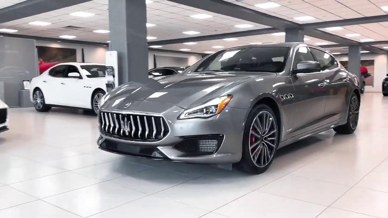 Take a look inside the 2019 Maserati Quattroporte! - YouTube