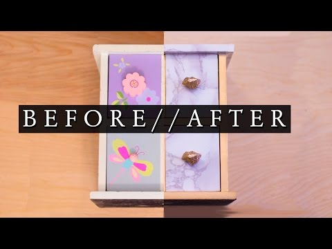 DIY Jewelry Box | Jewelry Organization