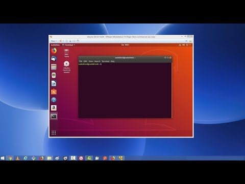 How To Install Ubuntu 18.04 LTS On VMware Workstation Player With VMware Tools