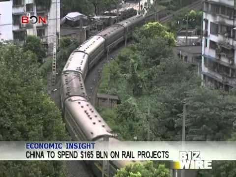 China to spend $165bln on rail projects - Biz Wire - February 7,2014 - BONTV China