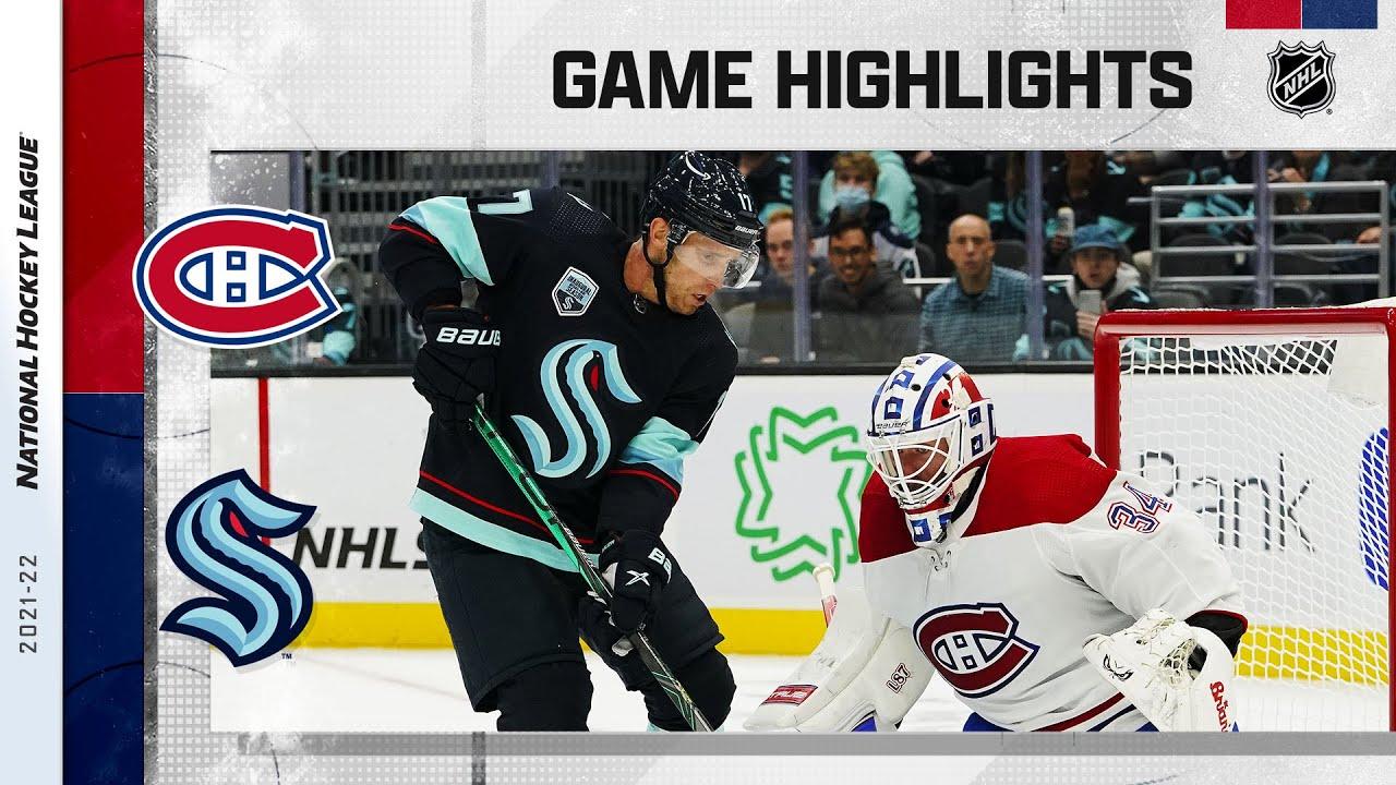 Download Canadiens @ Kraken 10/26/21 | NHL Highlights