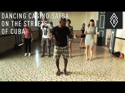 Dancing Casino Salsa On The Streets Of Cuba