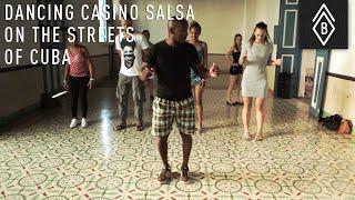 Dancing Casino Salsa On The Streets Of Cuba