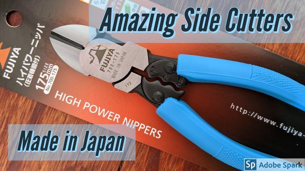 Download Japan Diagonal Side Cutting Pliers Fujiya 700-175