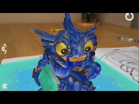 Skylanders Crayola Color Alive Coloring Book Unboxing + Review ...