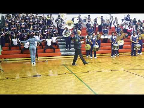 Mundys Mill High School Marching Band at Mundys Mill Middle School Pep Rally 2017 (Part 2)