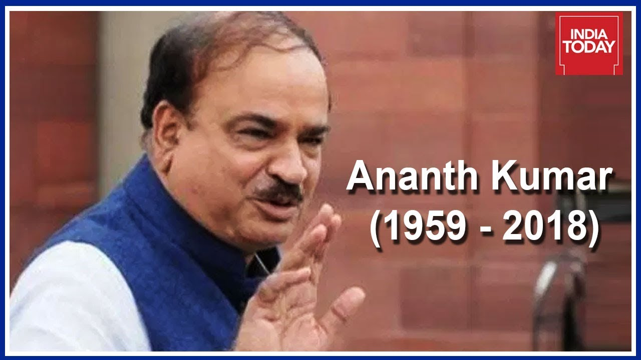 Late Union Minister Ananth Kumar To Get State Funeral, National Flag To Fly Half-Mast