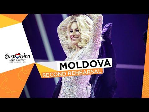 Natalia Gordienko - SUGAR - Second Rehearsal - Moldova ?? - Eurovision 2021