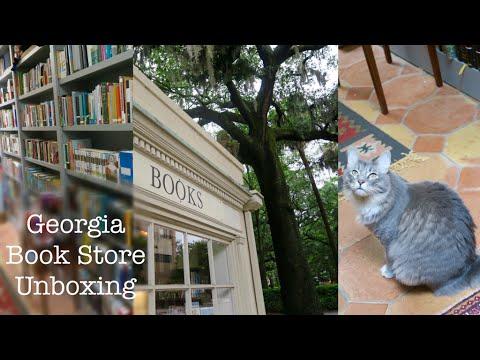 Georgia Bookstore Haul/Unboxing