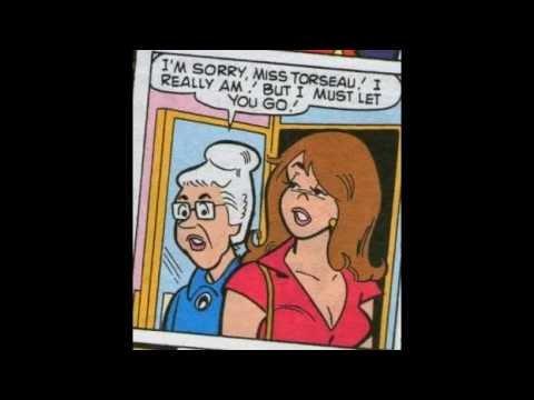 Librarians in Comic Books... Miss Torseau!