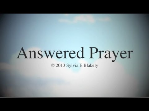 Answered Prayer (New Gospel Song)