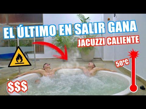 EL ÚLTIMO EN SALIR DEL JACUZZI CALIENTE GANA $$$ // Familia L