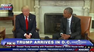 getlinkyoutube.com-MUST WATCH: Donald Trump Meets With President Obama at White House - FNN