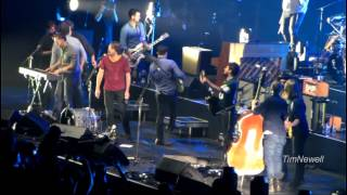 """Mumford and Sons (HD 1080p) """"Come Together"""" (feat The Vaccines) - Milwaukee 2013-09-03 - Marcus Amp."""