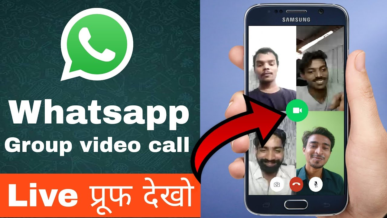 Official Whatsapp Group Video call 2018
