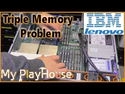 Fixing Triple Server Memory Problems - IBM x3650 M1 - 453