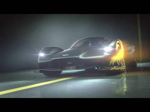 The Aston Martin Valkyrie: AM-RB 001 hypercar officially named
