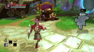 ps4 720p 18 rus en dungeon defenders 2 f2p вышла