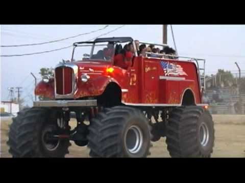 The Extinguisher Monster Fire Truck Youtube