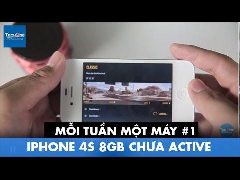 Mỗi tuần một máy #1: iPhone 4s 8gb CHƯA ACTIVE.