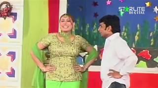 New Pakistani Stage Drama   Best of Sakhawat Naz and Gulfaam   Full Comedy Clip   Funny Punjabi Play