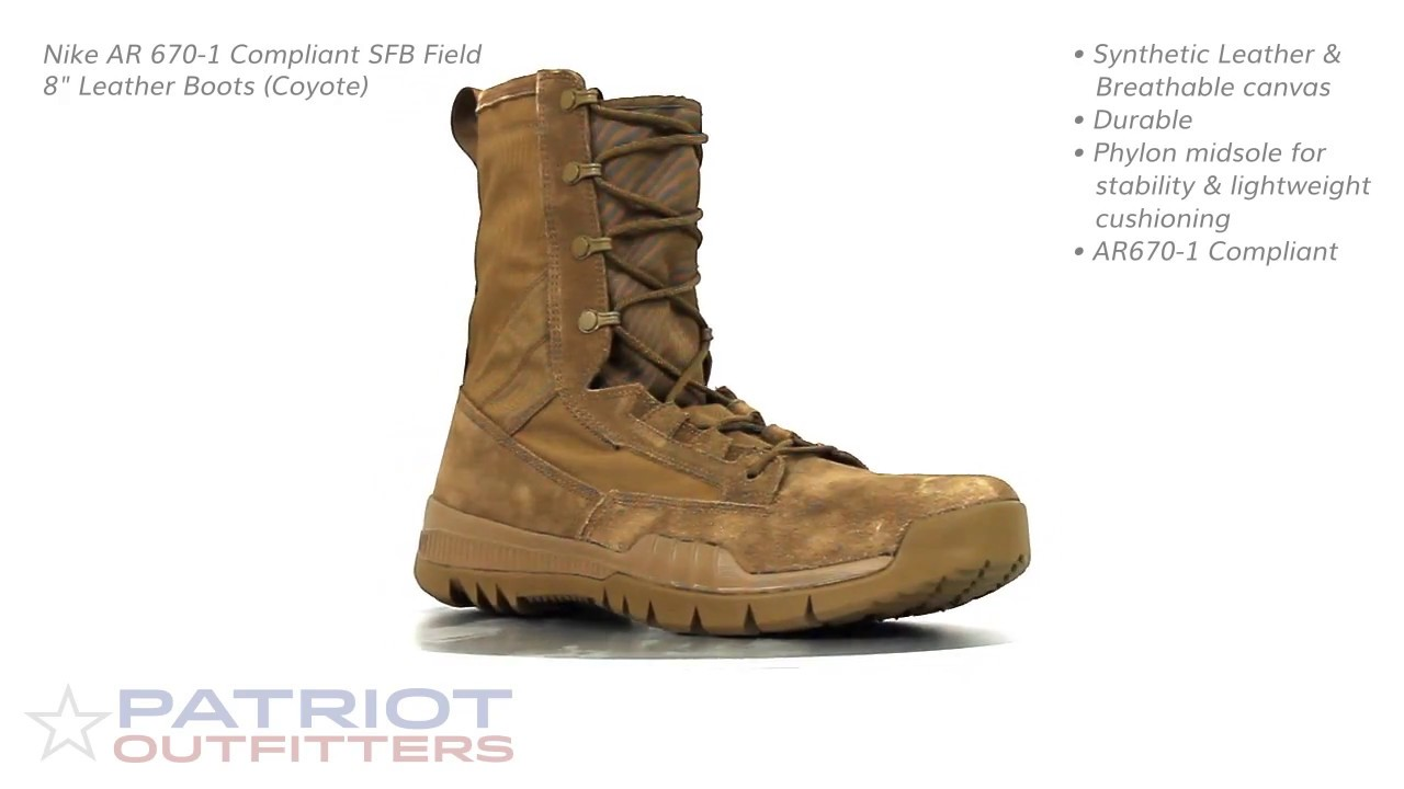 the best attitude b3ac5 4a662 ... wholesale nike sfb field 8 leather boots coyote d4b03 20297