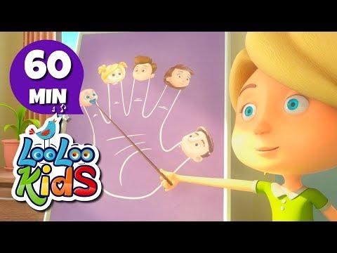 The Finger Family - Great Songs for Children | LooLoo Kids
