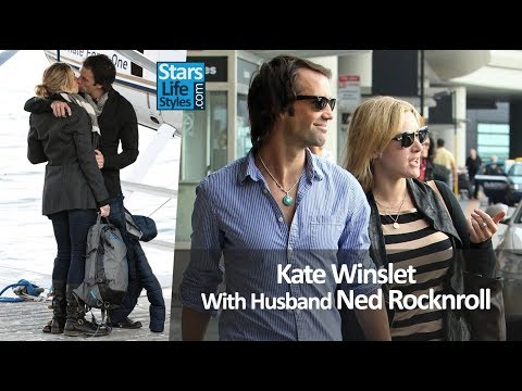 Kate Winslet With Husband Ned Rocknroll | Celebrity Couples
